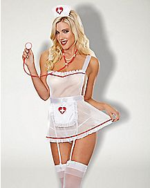 Hospital Hottie Lingerie Costume