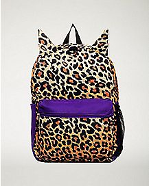 Leopard Ears Backpack