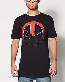 Shadow Deadpool T Shirt - Marvel Comics