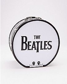 Drum Shaped Beatles Metal Lunch Box