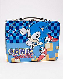 Sonic the Hedgehog Metal Lunch Box