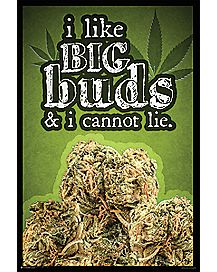 Like Big Buds Poster