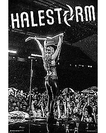Halestorm Live Poster