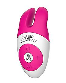 The Lay On Rechargeable Rabbit Vibrator