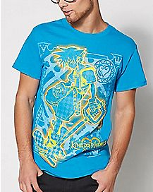 Key Kingdom Hearts T Shirt
