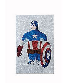 Captain America Metal Wall Art - Marvel Comics