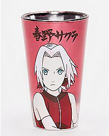 Japanese Writing Naruto Pint Glass - 16 oz