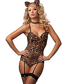 Leopard Kitty Bedroom Costume