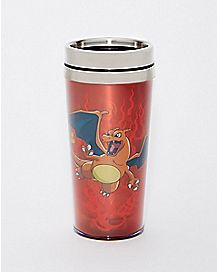 Charizard Pokemon Travel Mug - 16 oz
