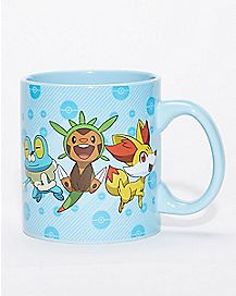 Foil Pokemon Mug - 20 oz