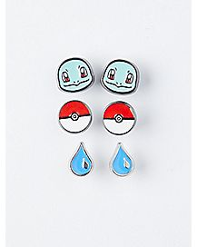 Squirtle Stud Earrings 3 Pack