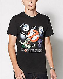 Group Ghostbusters T Shirt