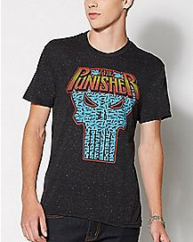 Retro Punisher T Shirt - Marvel Comics