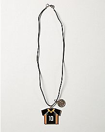 Number 10 Haikyu!! Necklace