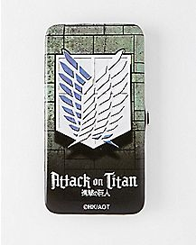 Attack on Titan Scout Regiment Hinge Wallet