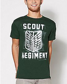 Scout Regiment Attack on Titan T Shirt