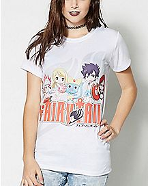Group Shot Fairy Tail T Shirt