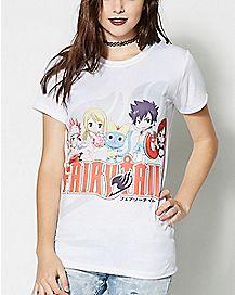 Group Shot Fairy Tail T Shirt