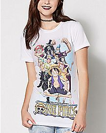 Sabaody Straw Hat Pirates T Shirt - One Piece