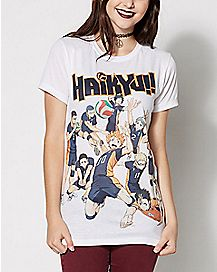 Karasuno High Team T Shirt - Haikyu!!