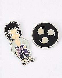 Sasuke Naruto Pin Set - 2pk