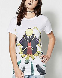 Weapons Korosensei T Shirt - Assassination Classroom