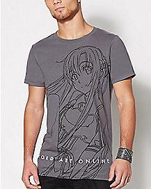 Asuna Sword Art Online T Shirt