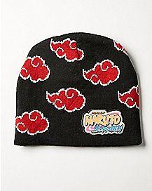 Naruto Akatsuki Symbol Beanie Hat