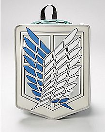 Scout Regiment Attack on Titan Hooded Backpack