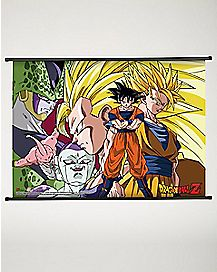 Villains Dragon Ball Z Fabric Poster