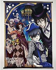 Black Butler Wall Scroll