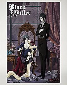 Black Butler Key Visual Poster