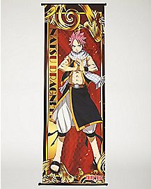 Natsu Dragneel Fairy Tail Wall Scroll