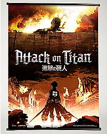 Attack on Titan Wall Scroll