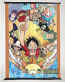 One Piece Wall Scroll
