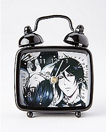 Sebastian and Ciel Black Butler Alarm Clock