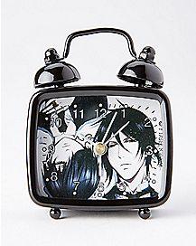 Sebastian and Ciel Black Butler Alarm Clock