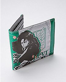 Levi Attack on Titan Bifold Wallet
