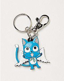 Fairy Tail Happy Key Chain