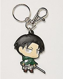Levi Attack on Titan Keychain