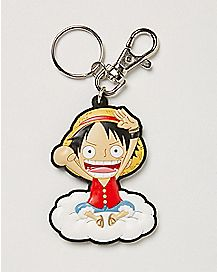 Luffy on the Cloud One Piece Keychain