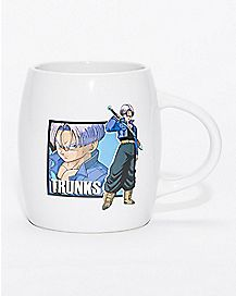 Dragon Ball Z Trunks Mug  8 oz