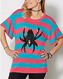 Striped Spider Gwen Sweater