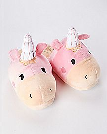 Balloonicorn Plush Slippers