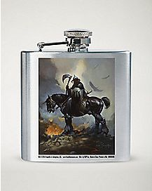 Frazetta Death Dealer Horse Flask - 8 oz.