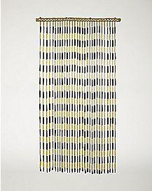 Two Tone Bamboo Curtain