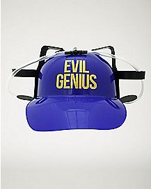Evil Genius Drinking Hat