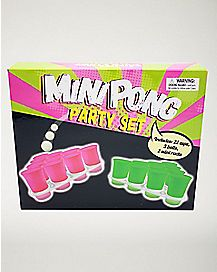 Mini Pong Shot Game