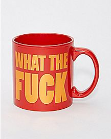 What The Fuck Mug - 22 oz.