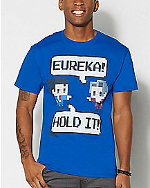 8-Bit Ace Attorney T Shirt